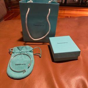 Tiffany & co wire bracelet